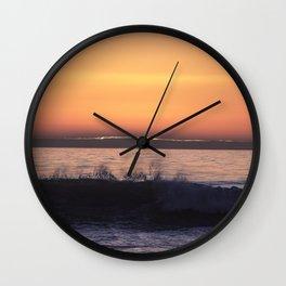 Disappearing Sun Wall Clock