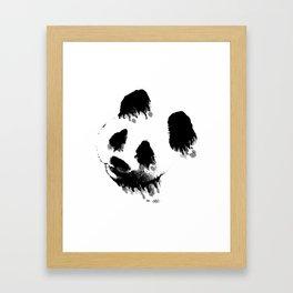 Wet Panda Framed Art Print