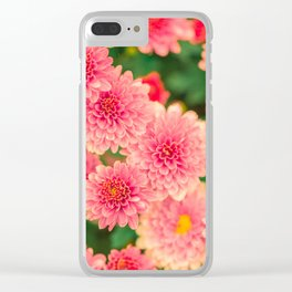 Flowers x Summer Clear iPhone Case
