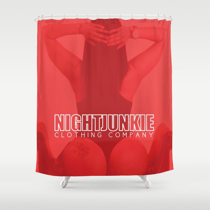 NIGHTJUNKIE ELIZABETH GUCCI Shower Curtain By Nightjunkie