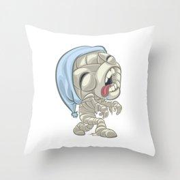 Sleepwalking Mum E Throw Pillow