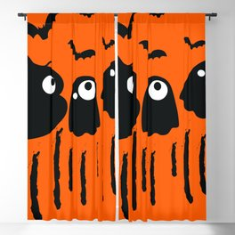 Boo Halloween Blackout Curtain