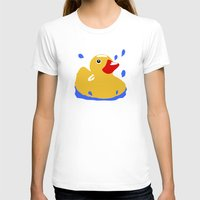 duck T-shirts featuring Duck by Blueshift