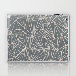 Ab Fan Grey And Nude Laptop & iPad Skin