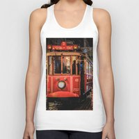 istanbul Tank Tops featuring Istanbul by Seza Kaymak