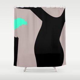 Tough but fragile Shower Curtain
