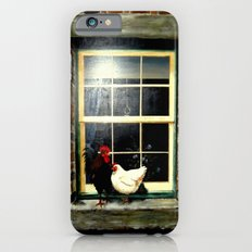 Roosters on a ledge  iPhone 6s Slim Case