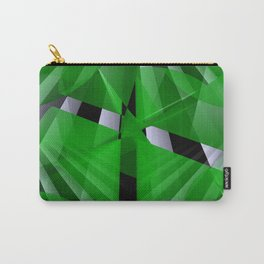 3D abstraction -07- Carry-All Pouch