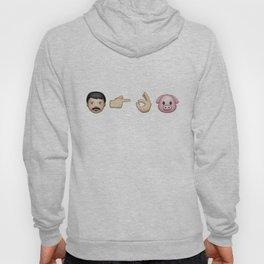 Emoji: Man Vs Pig Hoody