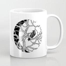 Moon Raven Coffee Mug