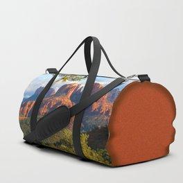 Cathedral Rocks of Sedona Duffle Bag