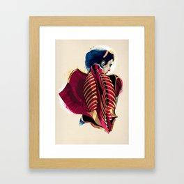 Anatomy 07a Framed Art Print
