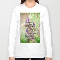 sarah paulson Long Sleeve T-shirts featuring Sarah by KimberosePhotography