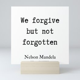 71  | Nelson Mandela  Quotes | 190818 Mini Art Print