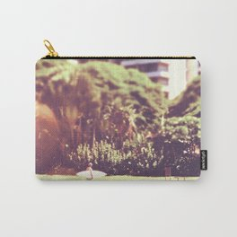 I'll Bring My Board to Work Surfer Hawaii Surfboard Waikiki Beach People Photography  Carry-All Pouch