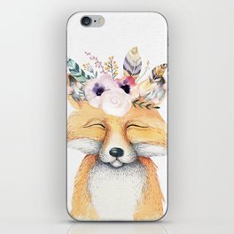 Forest Fox by Nature Magick iPhone Skin