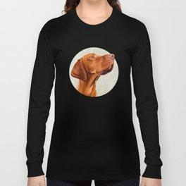 Magyar Vizsla portrait Long Sleeve T-shirt