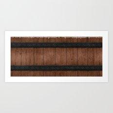 Wooden Art Print