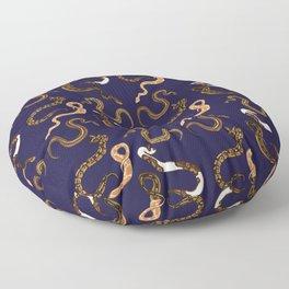 Plenty of Pythons - Royal Floor Pillow