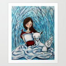 Winterlude Art Print