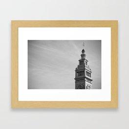Ferry Building, San Francisco Framed Art Print