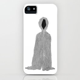 Being here, being there, looking at you, anywhere iPhone Case