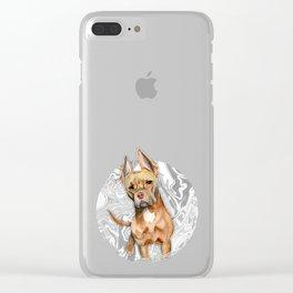 Bunny Ears 4 Clear iPhone Case