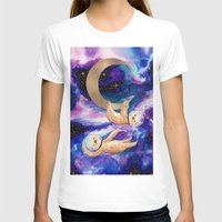 sloths T-shirts featuring Sloths in Space by Kamina
