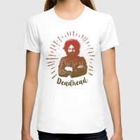 grateful dead T-shirts featuring Grateful Dead, Jerry Garcia by Burnish and Press