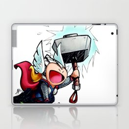 Inktober Thor Laptop & iPad Skin