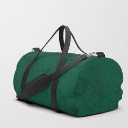 Green suede Duffle Bag