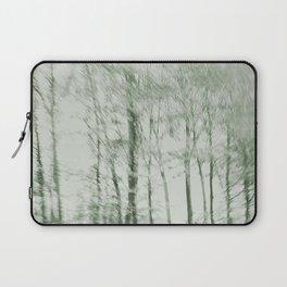 Windy woods (green) Laptop Sleeve