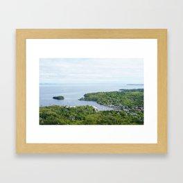 Camden Maine Framed Art Print