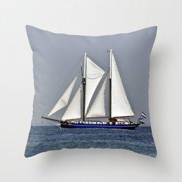 SAILORS WORLD - Baltic Sea Throw Pillow