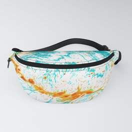 Waves of Thought #abtsract #painting Fanny Pack
