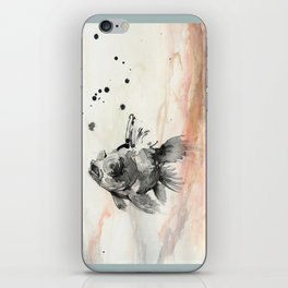 Goldfish iPhone Skin