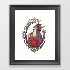 A Máscara Framed Art Print