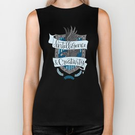 House Pride - Intelligence & Creativity Biker Tank