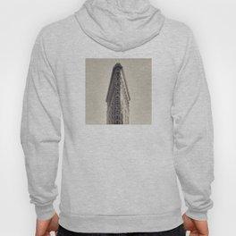 Flatiron Building, original New York photography, skyscrapers, wall decoration, home decor, nyc b&w Hoody