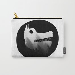 Soul wolf ( dark ) Carry-All Pouch