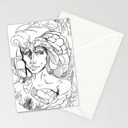 Mindwarp Stationery Cards