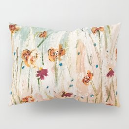 Tiger Lilies, Coneflowers, & Those Blue Things Pillow Sham