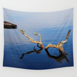 Lakes Edge Tranquility Wall Tapestry