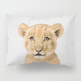 Baby Lion - Colorful Pillow Sham