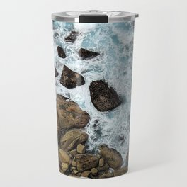 to the cliffs, to the sea Travel Mug