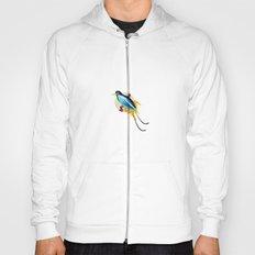 Blue Bird of Paradise Hoody