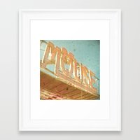 mouse Framed Art Prints featuring Mouse by Cassia Beck