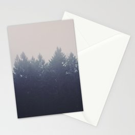 Forest in the Haze Stationery Cards