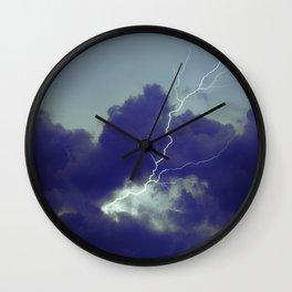 Turbulence II Wall Clock