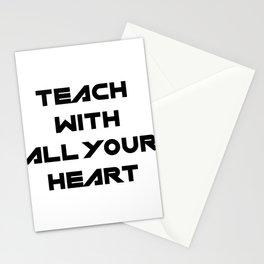 School Teacher Teaching Gift Stationery Cards